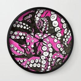 Octopi tentacles Wall Clock