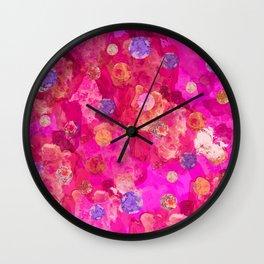 Molten Polka  Wall Clock