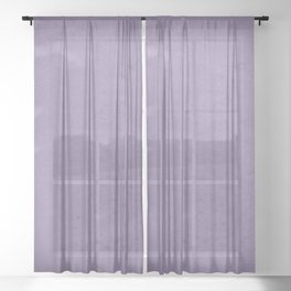 Violets are blue xxx Sheer Curtain