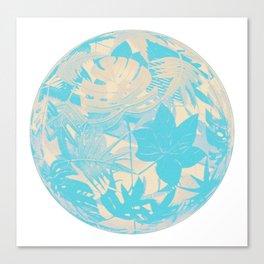 floral ball 5 Canvas Print