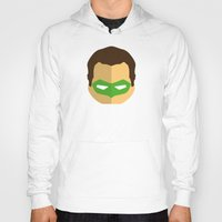 green lantern Hoodies featuring Green Lantern by Oblivion Creative