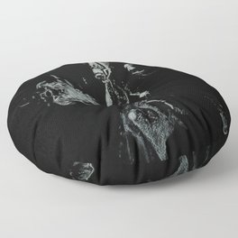 Serge Gainsbourg Floor Pillow