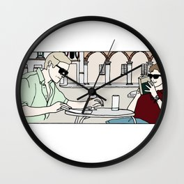 Call Me By Your Name scene Wall Clock
