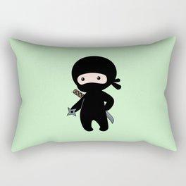 Tiny Ninja Rectangular Pillow