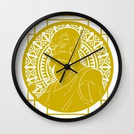 Stained Glass - Dragonball - Muten Roshi Wall Clock