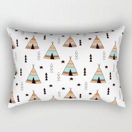 Cute tipi pattern Rectangular Pillow