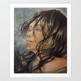 Arctic Breath Art Print