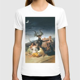 THE SABBATH OF THE WITCHES - GOYA T-shirt