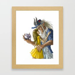 laberinto hip hop belle and the beast mash up Framed Art Print