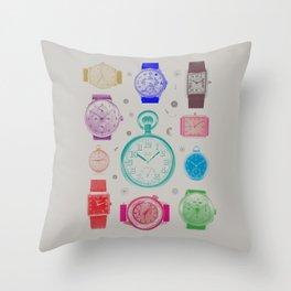Colour version Throw Pillow