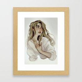 Vanilla Framed Art Print