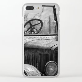 Simple Times 2 Clear iPhone Case