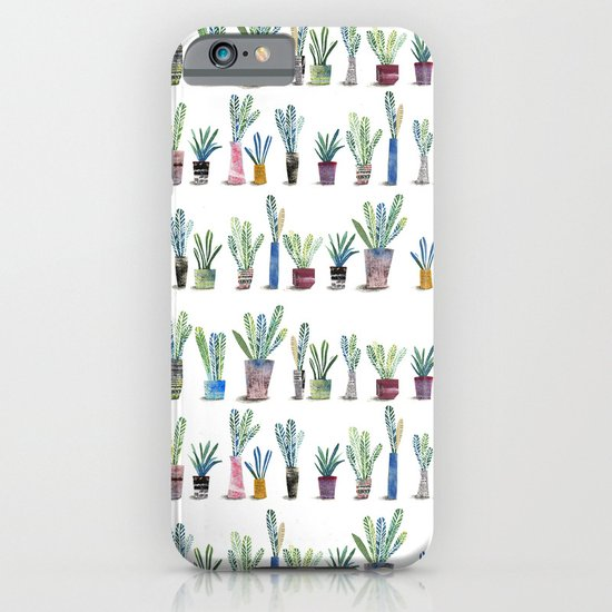 Plants in pots iPhone & iPod Case