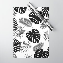 TROPICAL LEAVES 7 Wrapping Paper