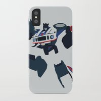 transformers iPhone & iPod Cases featuring Transformers G1 - Autobot Jazz by TracingHorses