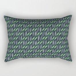 Blended Fibre Weave Rectangular Pillow