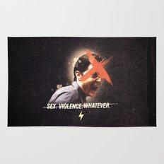 Black Mirror | Dale Cooper Collage Rug