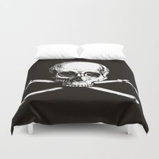 Skull and Crossbones | Jolly Roger Duvet Cover