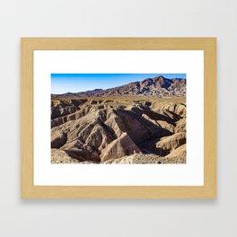 View towards Granite Mountain in the Anza Borrego Desert State Park, California, USA Framed Art Print