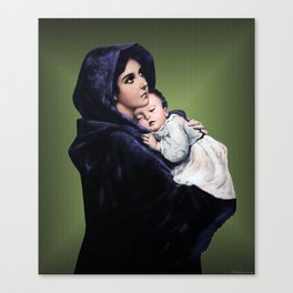 Madonna with Child Canvas Print
