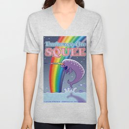Embrace The Squee! Unisex V-Neck