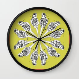 Matti the cocatiel circle of life Wall Clock