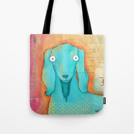 Quartet Goat Tote Bag