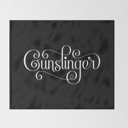 Gunslinger Throw Blanket
