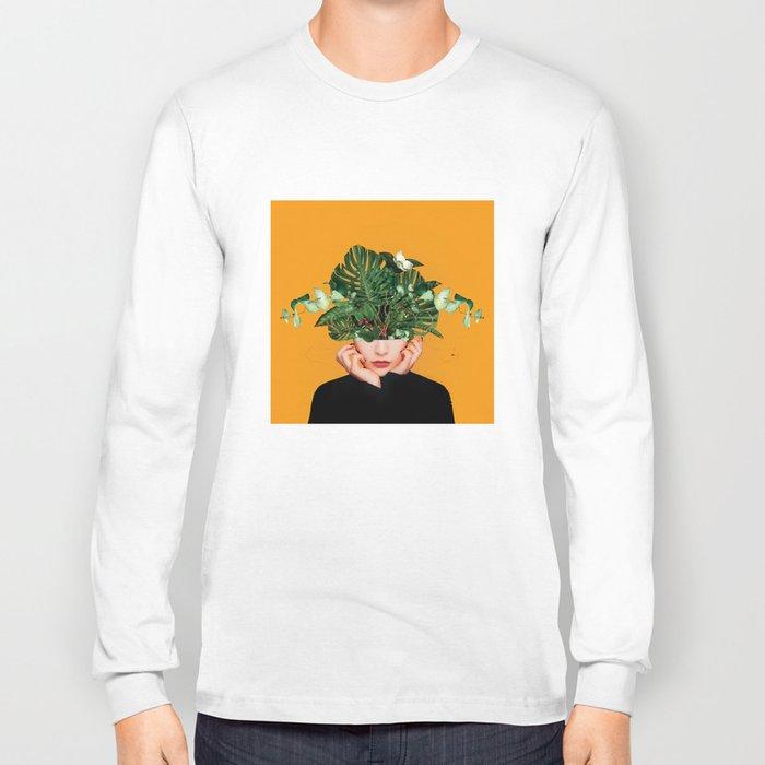 Lady Flowers || Long Sleeve T-shirt