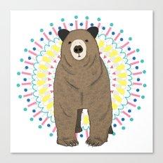 Bear Bear Canvas Print