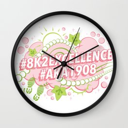 AKA 8K To Excellence Wall Clock