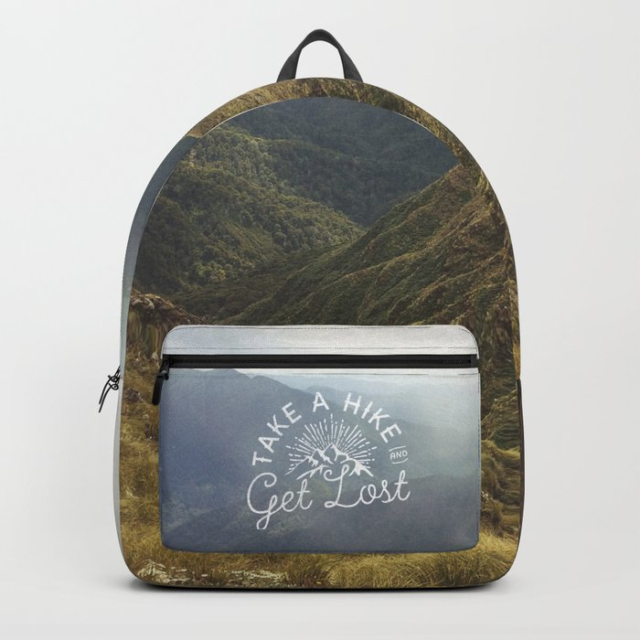 TAKE A HIKE and get lost Backpack