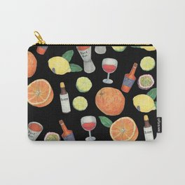party time_ black Carry-All Pouch