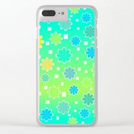 Joyful summer Clear iPhone Case