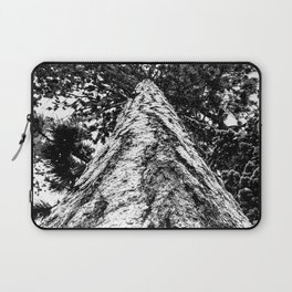 Squirrel View // Climbing Tall Tree Trunks // Winter Landscape Snowy Decor Photography Laptop Sleeve