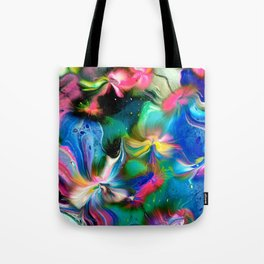 Kalidescope of Colour Tote Bag