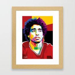 Dante Samba Bahia by FritzG Framed Art Print