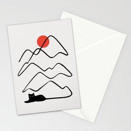 Cat Landscape 68 Stationery Cards