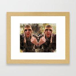 Strong Man Framed Art Print