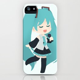 Miku Hatsune iPhone Case