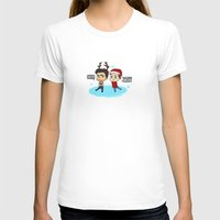 sterek T-shirts featuring Festive Sterek by The Paper Monster