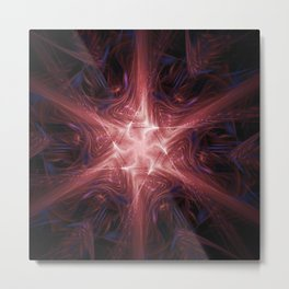 Energy Star Nexus Metal Print