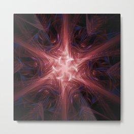Energy Star Nexus Metal Print