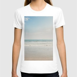 the Pacific Ocean shoreline, California T-shirt