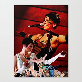 Do it With a Rockstar - Amanda Palmer Canvas Print