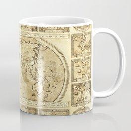 Vintage map of the World Coffee Mug