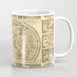 Vintage map of the World Coffee Mug