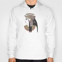 egyptian Hoodies featuring EGYPTIAN GODDESS by Bianca Green