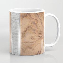 Wood Grain Stripes - Concrete #347 Coffee Mug