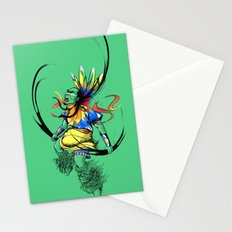 Colors of Anger Stationery Cards